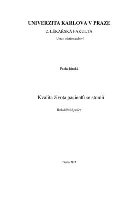 Markéta Příhodová, Veronika di Cara (LF UK, Praha, Česká republika).